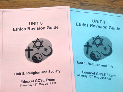 Ethics Revision Sessions