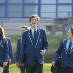 Web site sized - general pupils walking