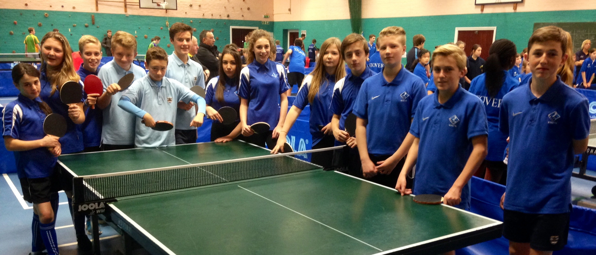 Terrific Tournament for Table Tennis Teams