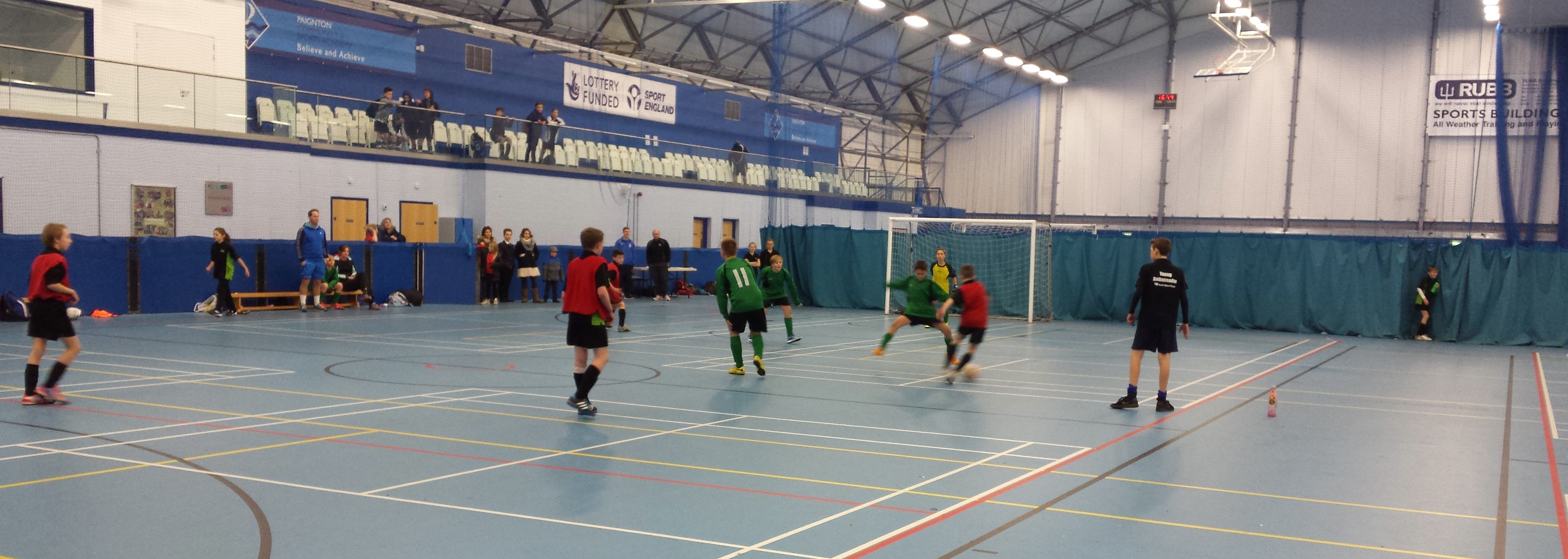 U12 Futsal Fever hits the Hub!