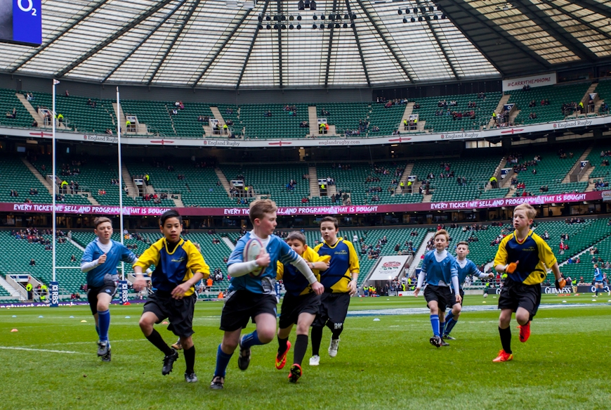 Year 7 Inspire England Win at Twickers!