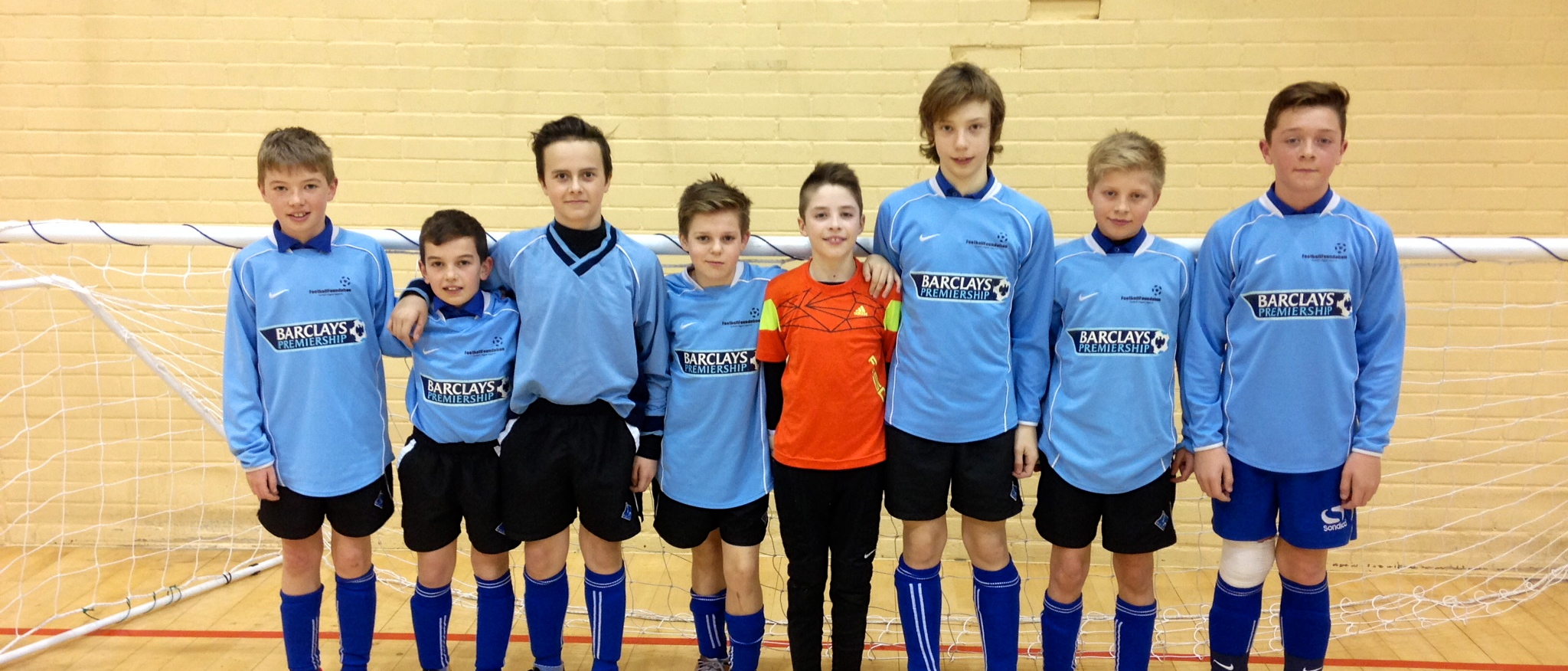 Paignton Year 7 Boys finished off the Tournament in Style