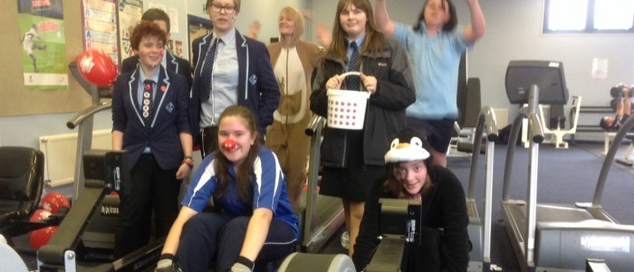 Year 10 Exercise Challenge for Comic Relief