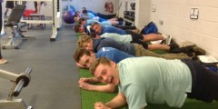 Year 11 get hands-on experience thanks to Winners Gym