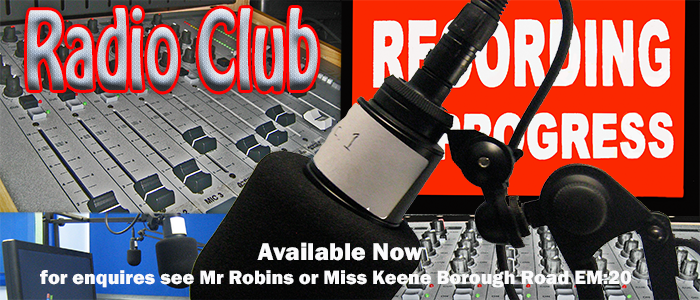 Join our Radio Club / Workshop