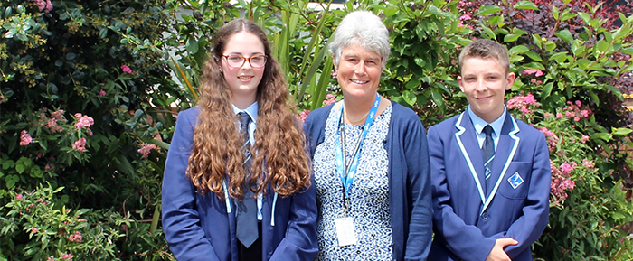 New Head Boy and Head Girl Appointed
