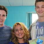 3 - Tom Young, Olivia Harrison and Jordan Cudlipp proud of their results