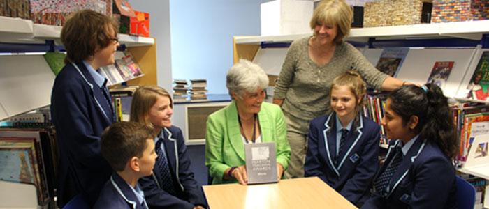 Principal, Jane English, Receives Lifetime Achievement Award
