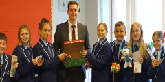 Operation Christmas Child Launched at PCSA