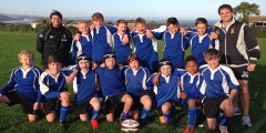 Strong Year 8 Rugby Team Dominate the Game