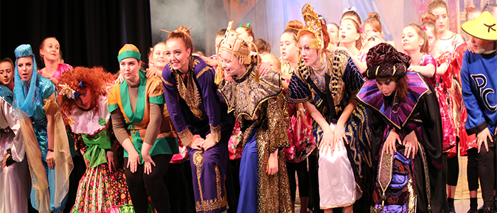 PCSA's 10th Anniversary Pantomime Performance – Aladdin