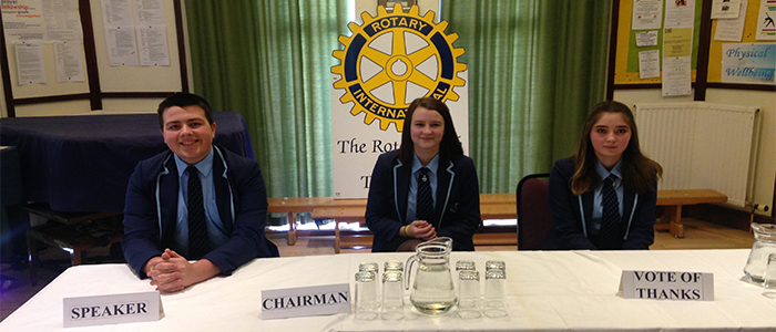 'Youth Speaks' Teams Compete in Rotary Competition