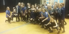 Dance and Drama Students put through their paces!