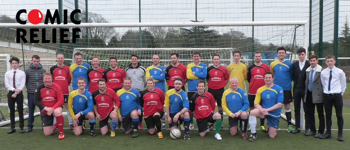 Comic Relief Football Match