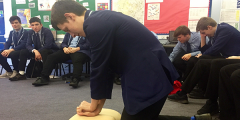 Year 11 Outdoor Education Students test their First Aid Skills