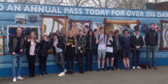 Year 12 Augmented Reality Trip to Thorpe Park