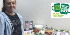 Lauren Raises Money for Macmillan Cancer Support
