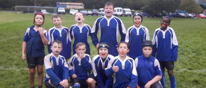 Year 7 Rugby – Wet, Wild and Windy…