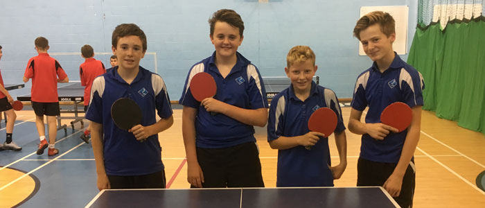 Top Form Table Tennis Team