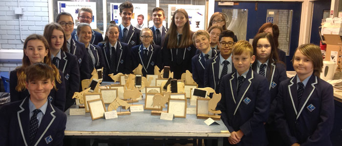 Year 8 Product Design Work on Display