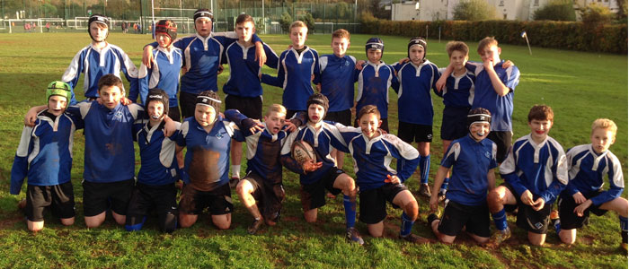 Tentastic for Year 8 Rugby