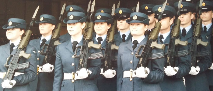 Ex Student Graduates from RAF After Gruelling Training