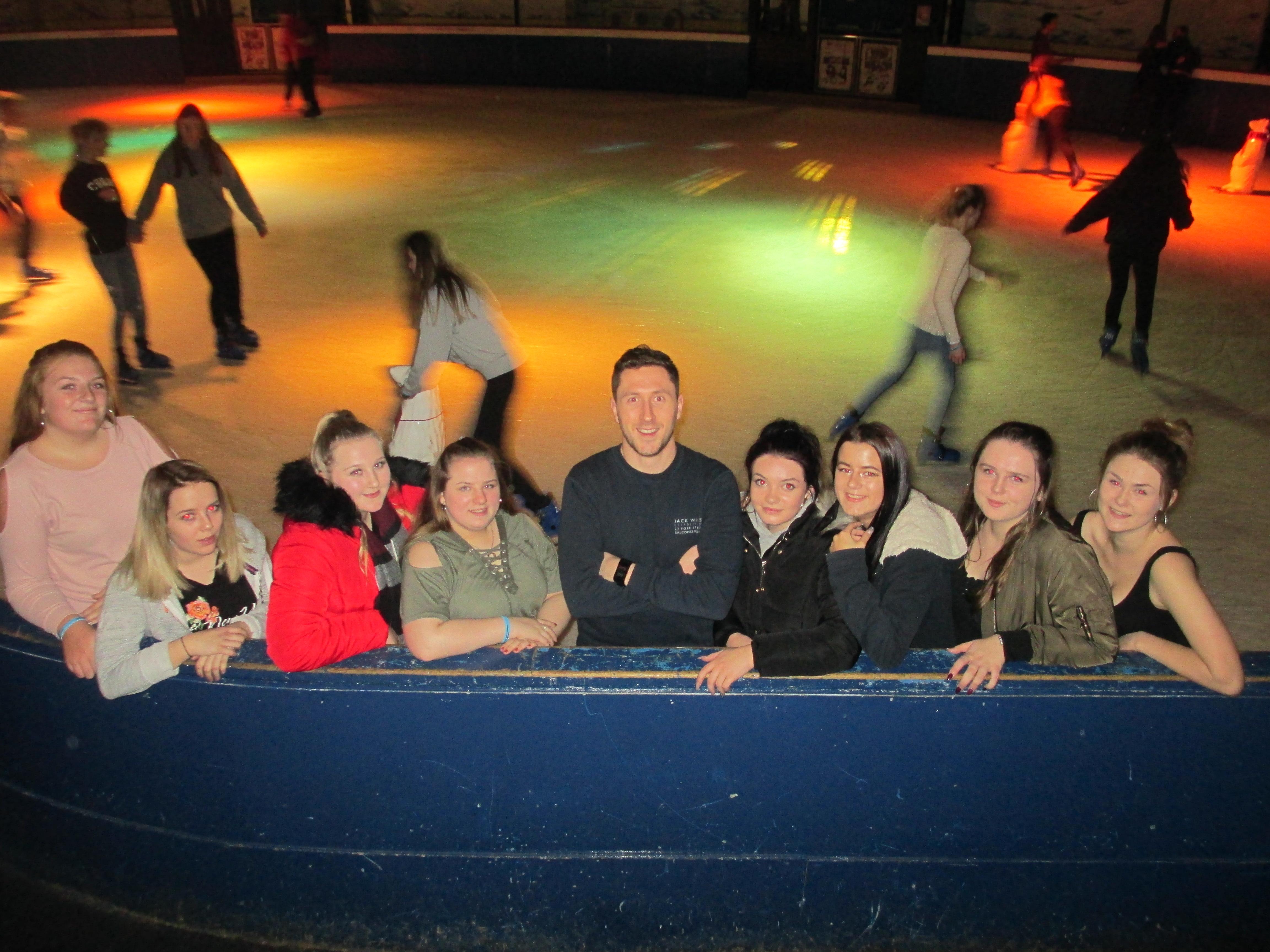 Plymouth Ice Skating Trip