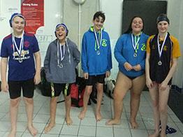 Silver for Paignton Waterpolo Team