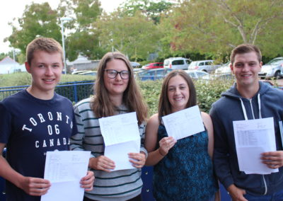 Celebrating GCSE Results