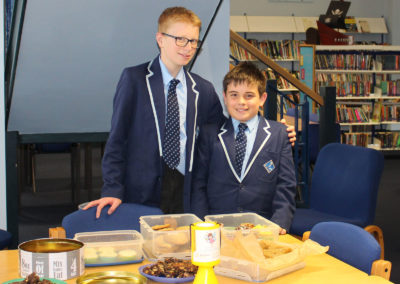 Cake sale in aid of two great charities