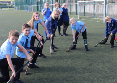 Sports Leaders train in preparation for primary sports festivals