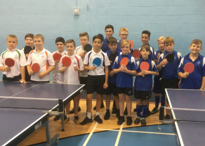 Year 7/8 table tennis squad make a pleasing start to the year