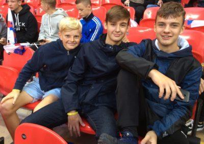 Boys at Wembley