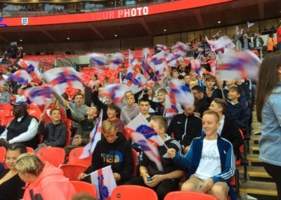 Students at Wembley