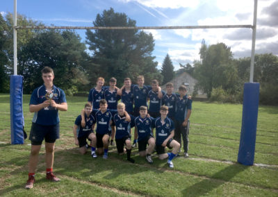 Year 11 rugby team crowned  South Devon champions 2018
