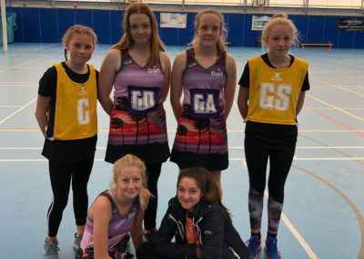 Students participate in the Torbay Junior Netball League