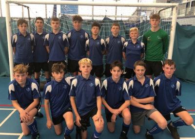 Year 10s Secure South Devon Futsal Title