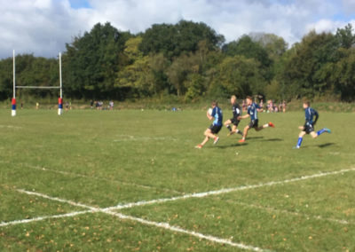 Year 10s fly through round 1 of the South Devon Cup