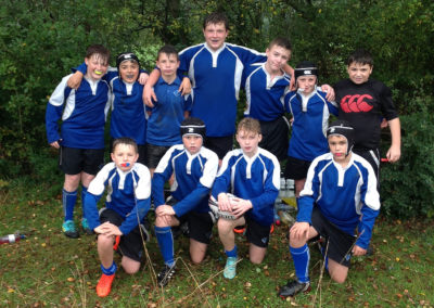 Year 8 start the rugby season well