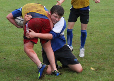 Students coached by Exeter Chiefs Community Coach