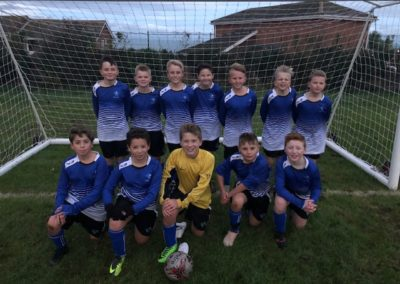 Year 7 footballers enjoy fantastic first game in PCSA blue