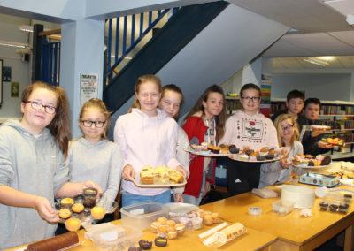Year 8 students raise funds in aid of PoTS