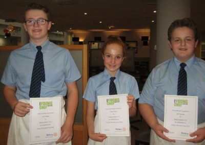Young Chef of the Year success!
