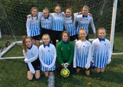 Girls' football team reach county finals!