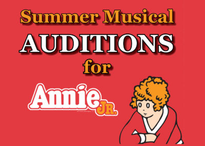 Want to be in this summer's show?