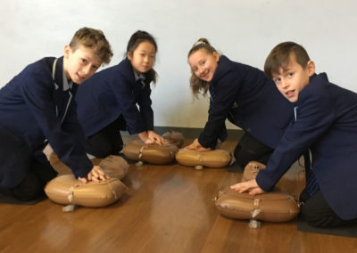 First aid training in PSHE lessons