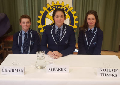 Rotary Youth Speaks