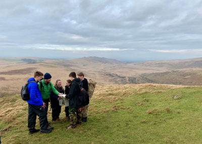 Ten Tors training sees students practice their navigation skills