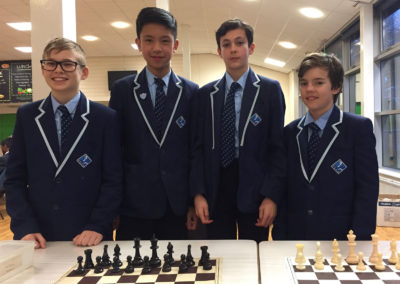 Chess bronze medallists at South West championships