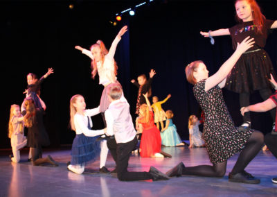 Dancing at the Princess Theatre